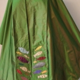 Commissioned chasuble and stole (front)